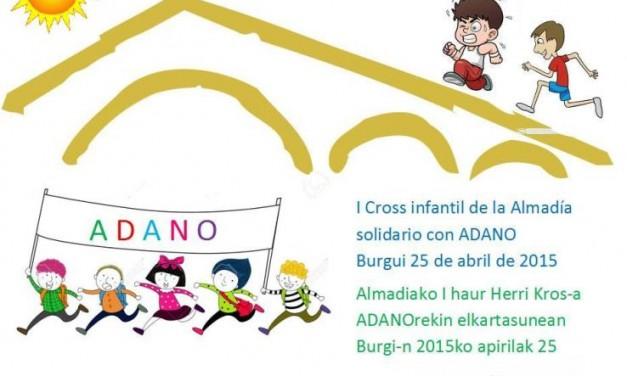 1er Cross Infantil de la Almadía