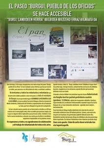 Cartel oficios bilingüe