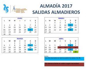 SALIDAS ALMADIEROS