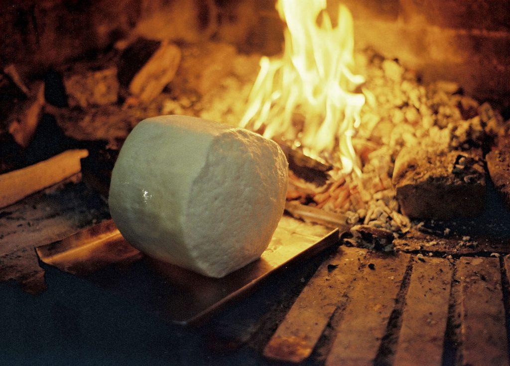 Pastor queso fuego