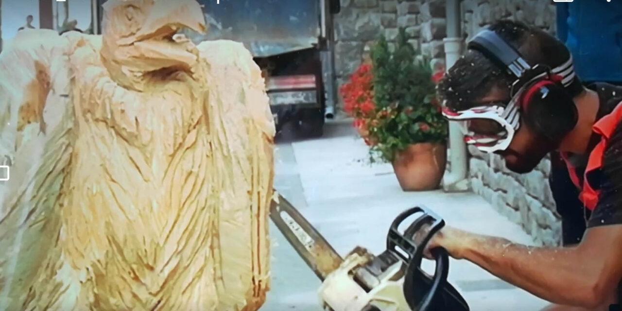 Burgui celebra este año una Fiesta de la Madera especial