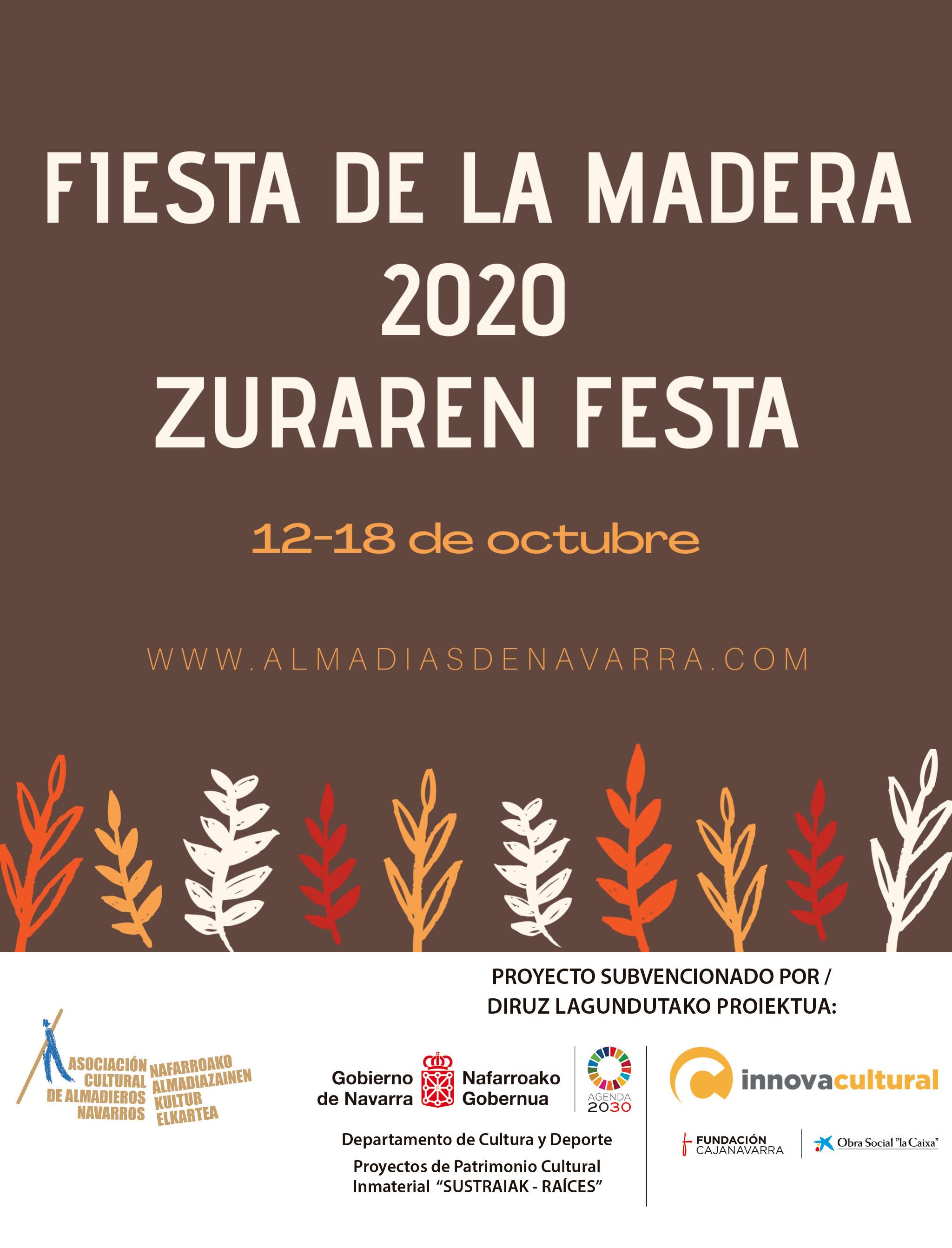 Fiesta de la madera 2020