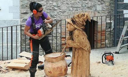 La sexta edición de la Fiesta de la Madera se celebra en Burgui el sábado 9 de octubre
